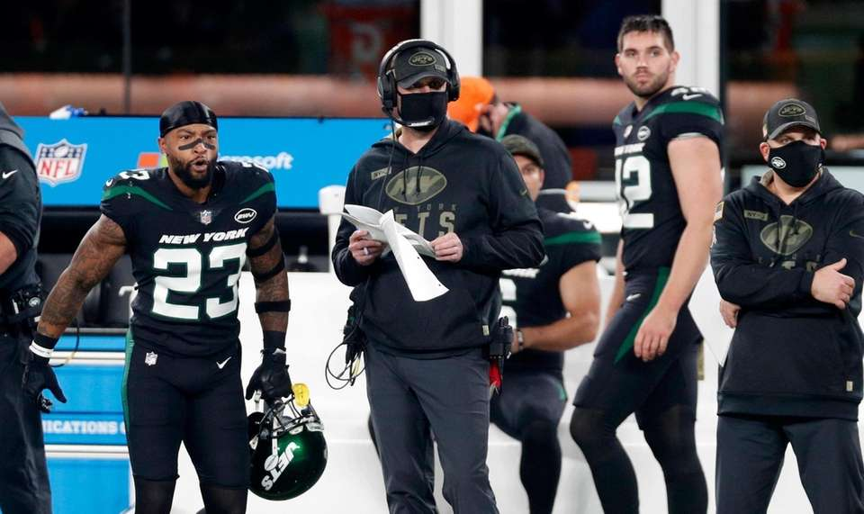 The Jets went 2-14 in 2020, Adam Gase's