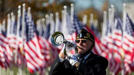 Representing American Legion Post 1738, Vincent Cassidy of