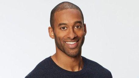 """Matt James is ABC's first Black """"Bachelor"""" star."""