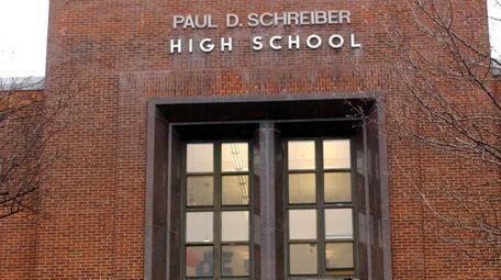 The Paul D. Schreiber High School varsity softball