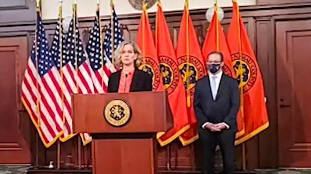 On Thursday, Nassau County Executive Laura Curran announced