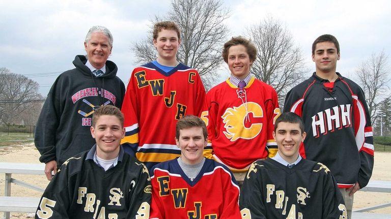 Newsday's 2013 All-Long Island ice hockey team Back
