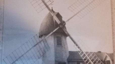 An archival photo of the windmill at 15