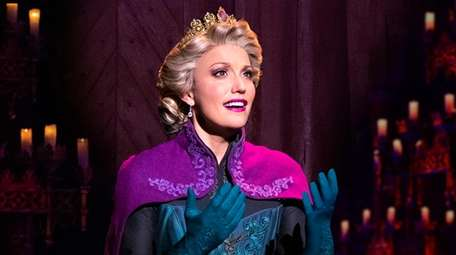 Caroline Bowman stars as Elsa in the touring