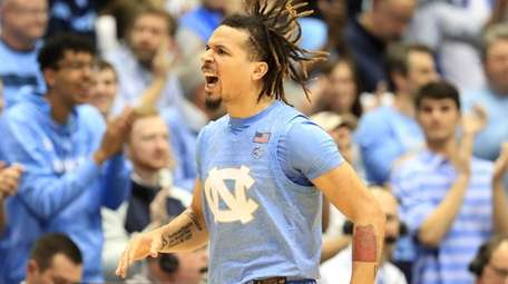 Cole Anthony of the North Carolina Tar Heels
