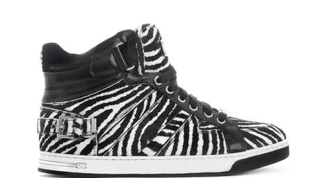 Michael Kors released 500 pairs of this zebra