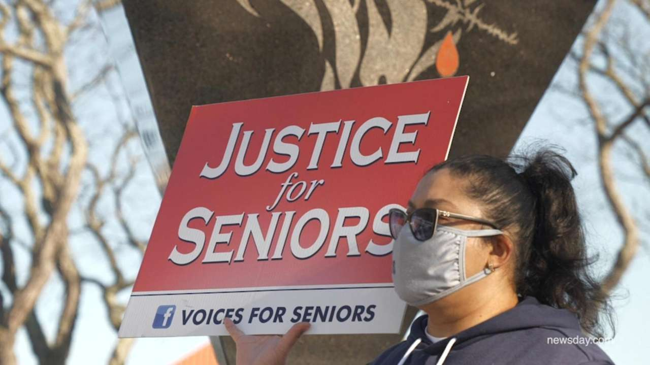 Voices for Seniors held a rally atKennedy Plaza