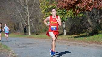 Michael Cahill of Chaminade finished 6th. at the