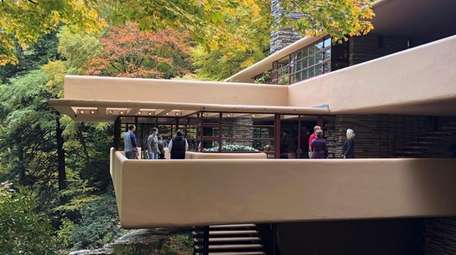 Fallingwater, the summer home Frank Lloyd Wright designed