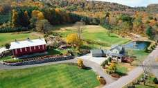 The Barn at Maple Falls is located in