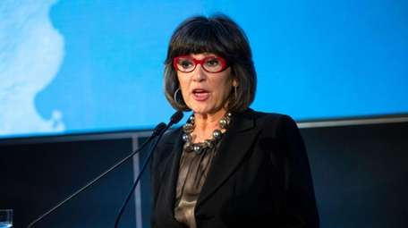 British-Iranian journalist Christiane Amanpour during the Fulbright Prize