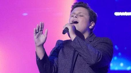 Shoreham singer Carter Rubin, 15, is competing on