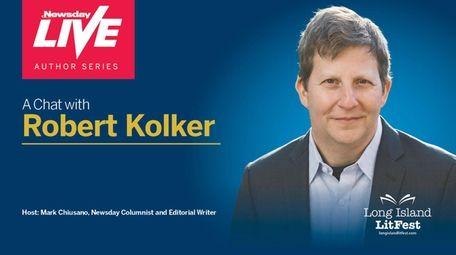 Kolker discussed his new book, 'Hidden Valley Road,'