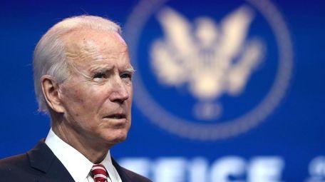 President-elect Joe Biden on Monday.