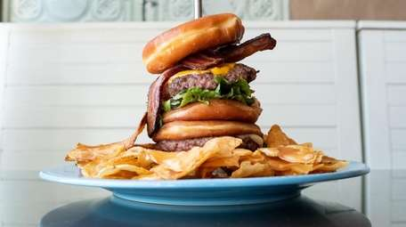 The Inferno burger is among the offerings at