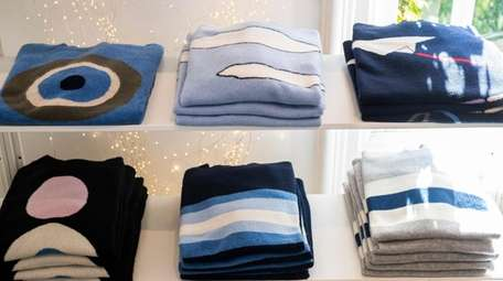 Cashmere sweaters, along with shoes, designer jewelry and
