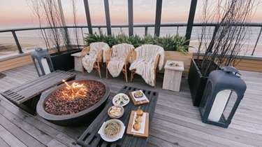 Gurney's Montauk Resort has socially distant outdoor dining