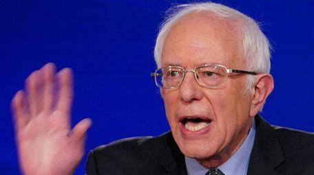Sen. Bernie Sanders Sanders' budget proposal will include
