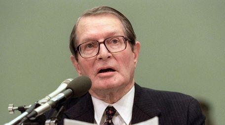 Elliot Richardson, the former U.S. Attorney General under