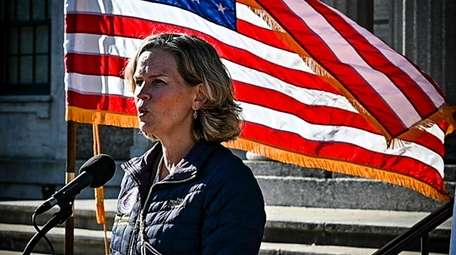 Nassau County Executive Laura Curran, pictured Friday during