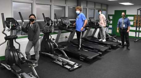 Seaford High School recently unveiled a renovated fitness