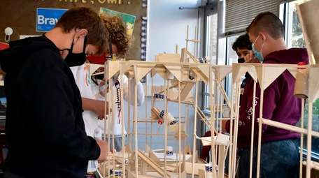 In Glen Head, eighth-graders in Anthony Facchini's Innovation