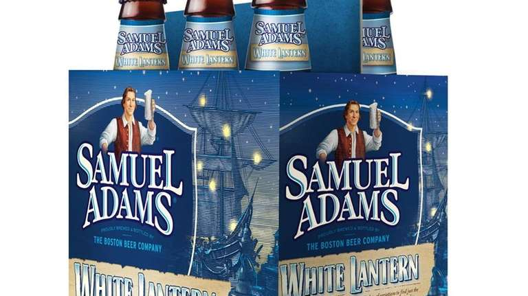 Samuel Adams' White Lantern, with citrus and an