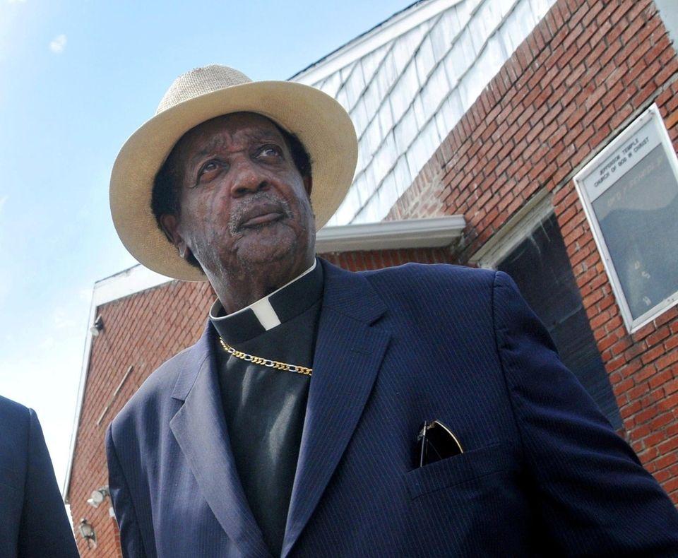 Bishop Ralph.L. Jefferson in 2013.