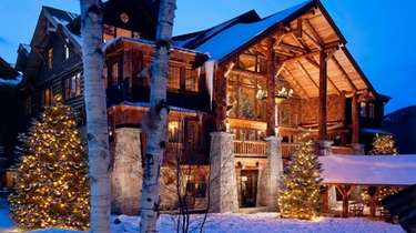 Whiteface Lodge in upstate Lake Placid.
