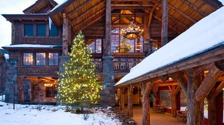 The Whiteface Lodge in Lake Placid, New York.