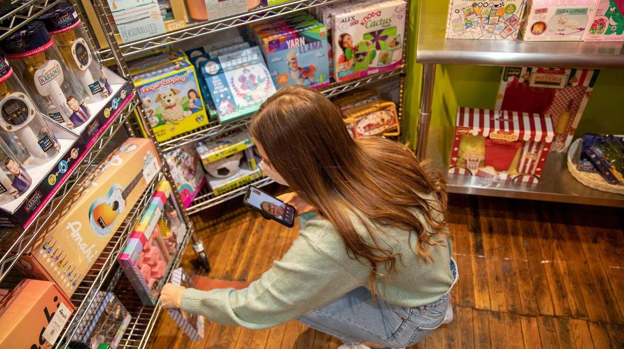 Toy store G. Willikers in Locust Valley has