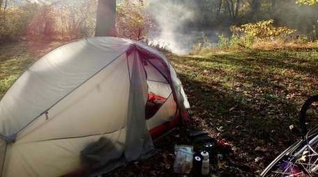 Camping in cold weather requires extra planning and