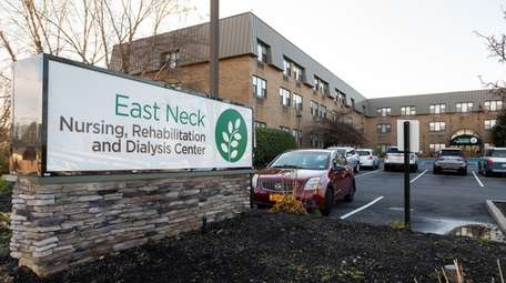 Executives at the East Neck center
