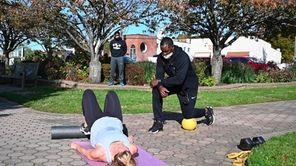 Jamel Ramsay, co-owner of Port Fitness Studio on