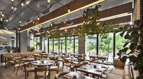 The Osprey restaurant at 1 Hotel Brooklyn Bridge
