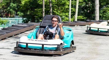 Go-kart racing are among the things to do