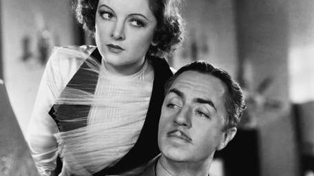 Myrna Loy and William Powell are on the