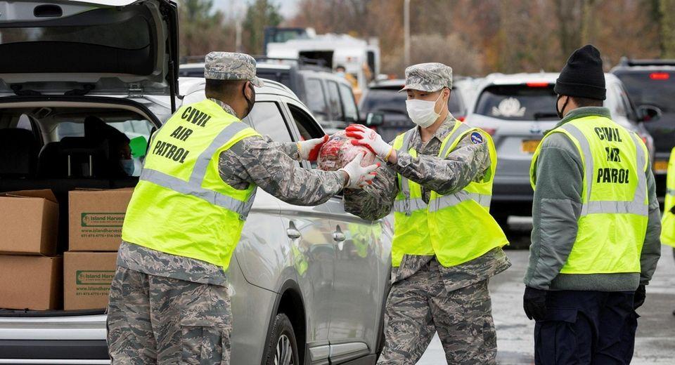Civil Air Patrol members in November take part