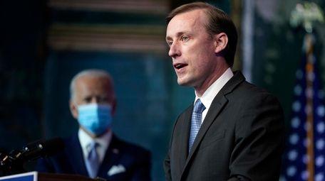 President-elect Joe Biden's national security adviser nominee Jake