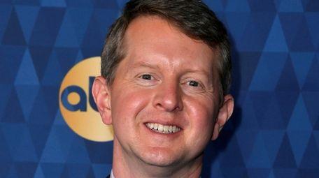 Ken Jennings, seen in January, has a history