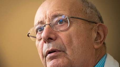 Former United States Sen. Alfonse D'Amato was diagnosed
