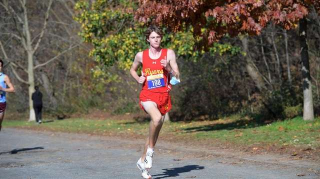 Frank Naudus of Chaminade finished 4th. at the
