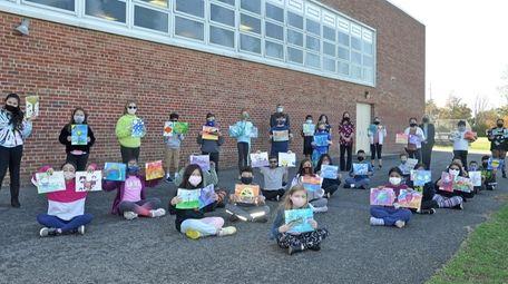 In Hicksville, students in Melissa Butler's art classes