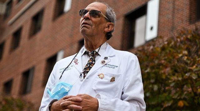 Dr. Leonard Krilov, chief of pediatric infectious diseases
