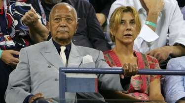 Former New York City Mayor David Dinkins, who