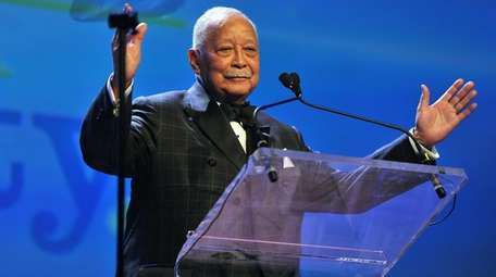 David Dinkins, New York City's only Black mayor,