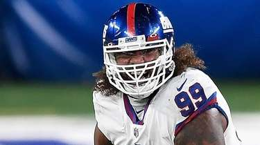 Leonard Williams #99 of the New York Giants