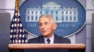 Dr. Anthony Fauci, director of the National Institute