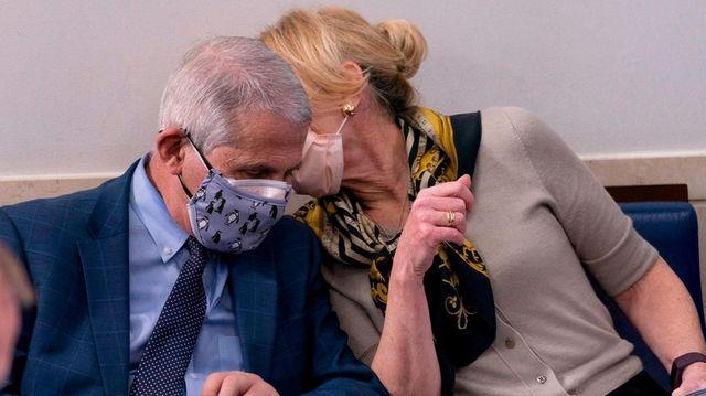 Drs. Anthony Fauci and Deborah Birx on the