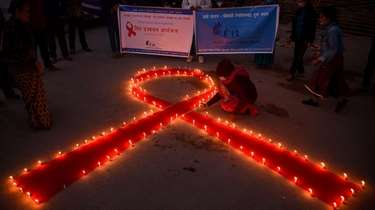 On Monday, the eve of World AIDS Day,